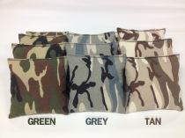 Camouflage Cornhole Bags - Set of 8