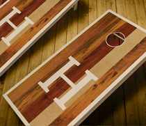 Stained Cornhole Sets