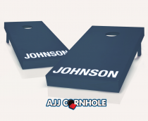 """Personalized Painted"" Cornhole Set"