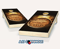 """Age With Love Wedding"" Cornhole Set"