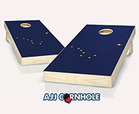 """Alaska Flag"" Cornhole Set"
