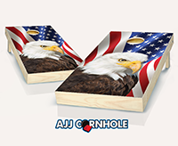 """American Eagle"" Cornhole Set"