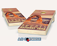 """Arches"" Cornhole Set"