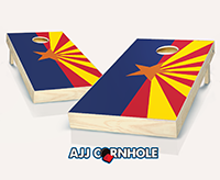 """Arizona Flag"" Cornhole Set"