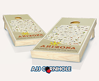 """Arizona Poster"" Cornhole Set"