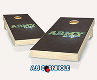 """Army Wife"" Cornhole Set"