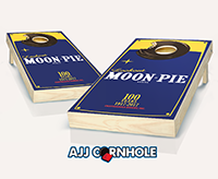 """Bite of Moonpie"" Cornhole Set"