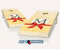 """Wedding Bow"" Cornhole Set"