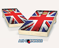 """British Punk Flag"" Cornhole Set"