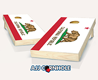 """California Flag"" Cornhole Set"