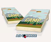 """Camp Themed"" Cornhole Set"