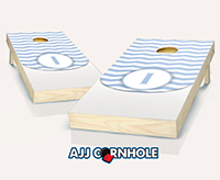 """Wedding Chevron Initial"" Cornhole Set"