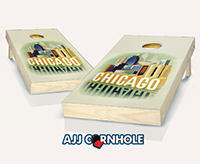 """Chicago Poster"" Cornhole Set"