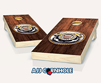 """Coast Guard Medal"" Cornhole Set"