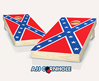 """Confederate Flag"" Cornhole Set"