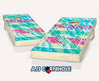 """Cool Wave"" Cornhole Set"