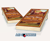 """Country Roads"" Cornhole Set"