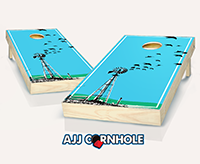 """Crop Crows"" Cornhole Set"