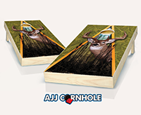 """Deer"" Cornhole Set"