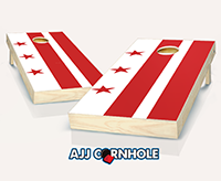 """District of Columbia Flag"" Cornhole Set"