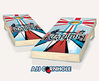 """English Surname"" Cornhole Set"