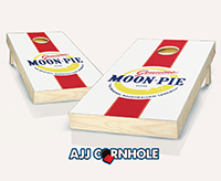 """Genuine Moonpie"" Cornhole Set"