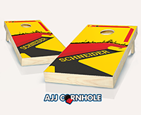 """German Surname"" Cornhole Set"
