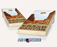 """Grand Canyon"" Cornhole Set"