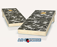 """Gray Camo"" Cornhole Set"