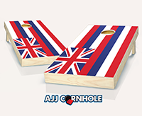 """Hawaii Flag"" Cornhole Set"