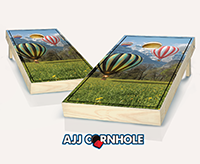 """Hot Air Balloon"" Cornhole Set"