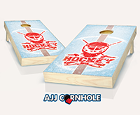 """Ice Hockey"" Cornhole Set"