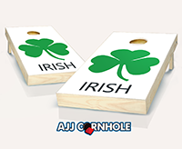 """Irish"" Cornhole Set"