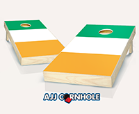 """Irish Flag"" Cornhole Set"