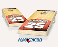 """Jersey Court Basketball"" Cornhole Set"