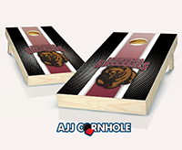 Montana Grizzlies Striped Cornhole Set