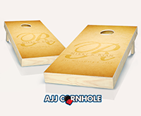 """Wedding Name"" Cornhole Set"