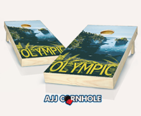 """Olympic"" Cornhole Set"