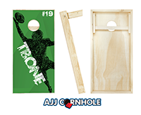 """Palm It"" Cornhole Set"