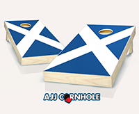 """Scottish Flag"" Cornhole Set"