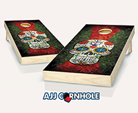 """Sugar Skull"" Cornhole Set"