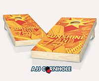 """Sunshine and Love"" Cornhole Set"
