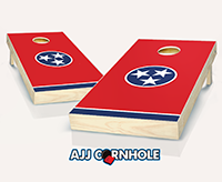 """Tennessee Flag"" Cornhole Set"