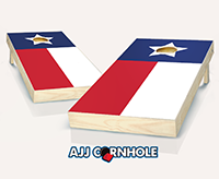 """Texas Flag"" Cornhole Set"