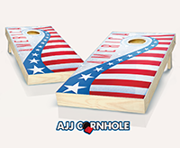 """USA Shooting Star"" Cornhole Set"