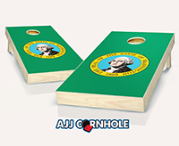 """Washington Flag"" Cornhole Set"