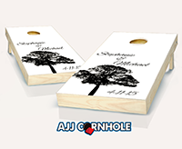 """Wedding Tree"" Cornhole Set"