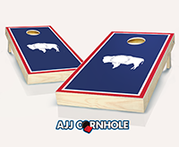 """Wyoming Flag"" Cornhole Set"