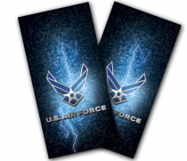 """Air Force Lightning"" Cornhole Wrap"