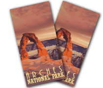 """Arches National Park"" Cornhole Wrap"